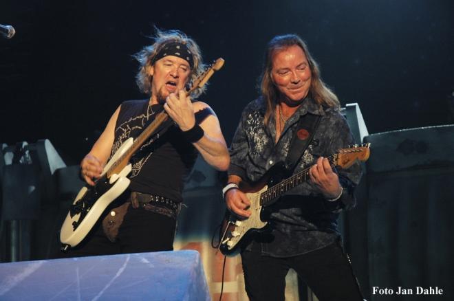 Iron Maiden - Adrian & Dave - Dallas 2010