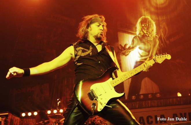 Iron Maiden - Adrian - Oslo Spektrum 2005