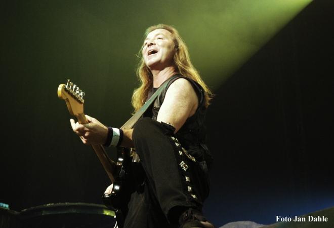 Iron Maiden - Dave - Oslo Spektrum 2005