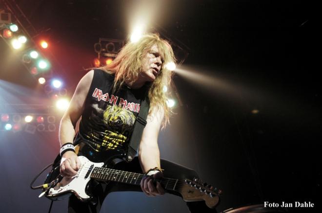 Iron Maiden - Janick - Oslo Spektrum 2005