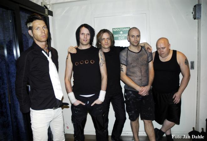 Seigmen - Backstage - Rockefeller 2006