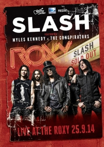 Slash_Live At The Roxy 25.9.14 (DVD)