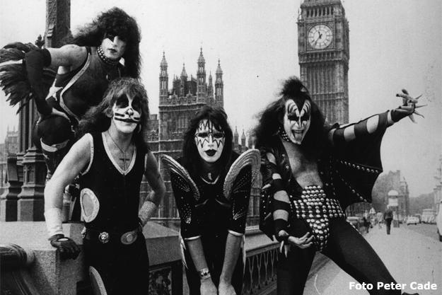 Kiss_London 1976 (Foto Peter Cade)