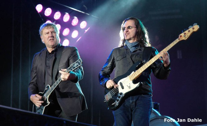 Rush Alex Lifeson & Geddy Lee SRF 2013