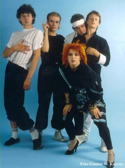 Toyah_Band 1981 (Foto Gunter W. Kienitz)