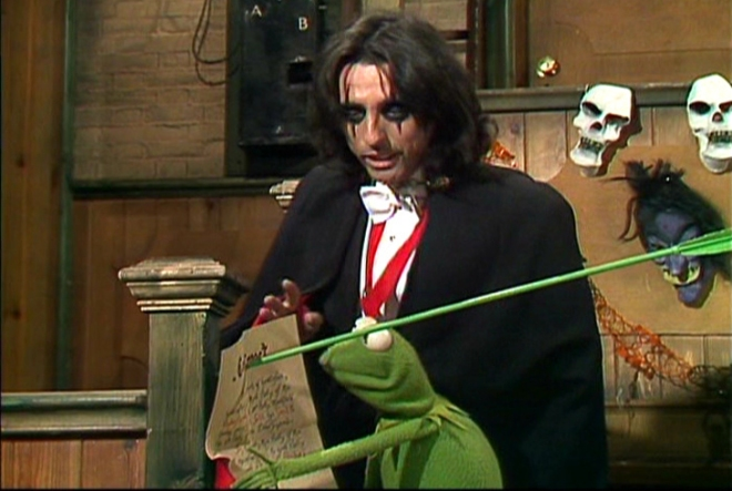 Alice Cooper The Muppet Show 1978