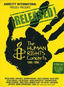 Diverse Artister_Released The Human Rights Concerts 1986-1998