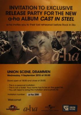 a-ha_Invitasjon Union Scene